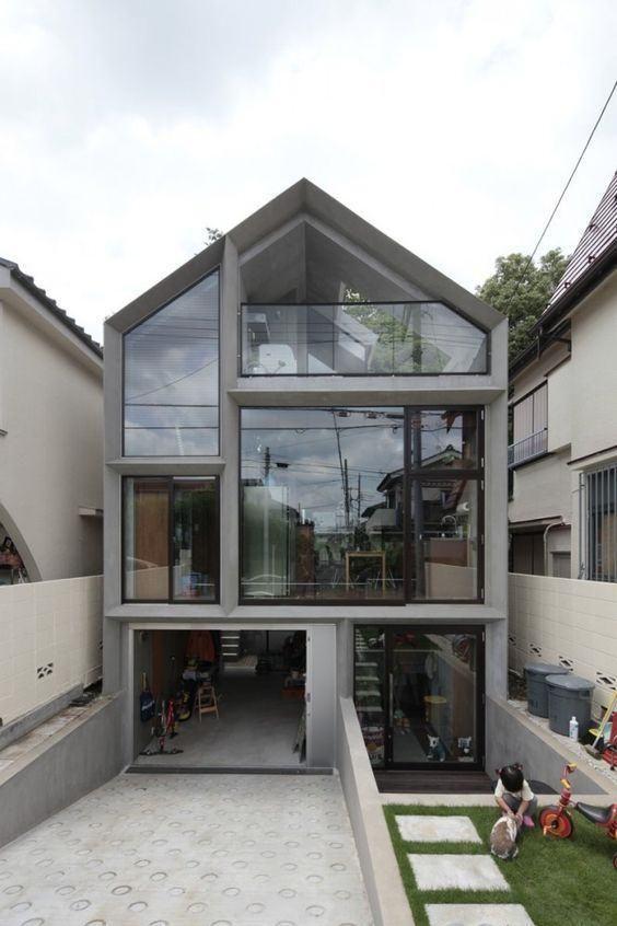 92 fachadas de casas modernas que o inspirarão   – Häuser