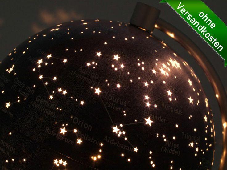 Fresh  stellanova globen de Leuchtglobus Sternenhimmel
