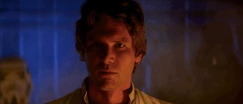 New party member! Tags: love star wars harrison ford han solo the empire strikes back empire strikes back i know know  it all