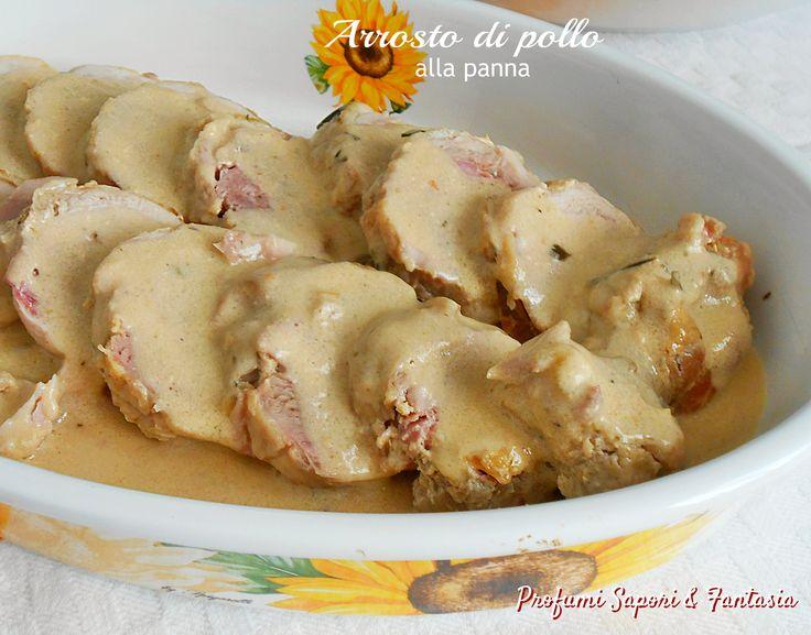 Deliziate i vostri commensali con l'arrosto di pollo alla panna in casseruola. Sarà un successo a tavola in ogni occasione con amici e la vostra famiglia.