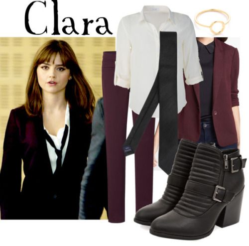 """Clara Oswald from """"Time Heist"""" Buy it here!"""