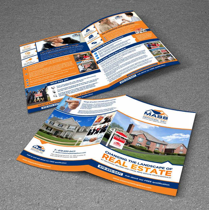 New brochure design wanted for Mass Marketing Services, Inc. Brochure design #3 by Adwindesign