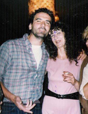 Massimo Troisi e Franca Moraglio Giugurta