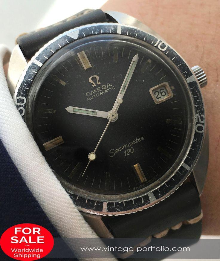 Omega Seamaster 120 Vintage Diver Automatik Automatic 37mm Date #omega #omegawatches #omegaseamaster #seamaster