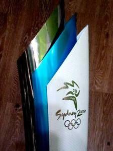 SYDNEY 2000 OLYMPIC GAMES TORCH FACKEL GREEK FIRST STEP ORIGINAL EXTREMELY RARE!    eBay