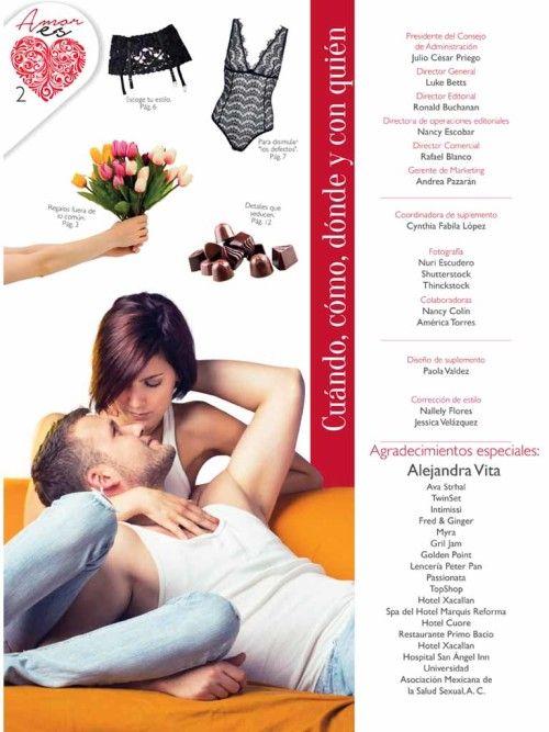 Alejandra Vita periódico nuestro - reportaje prensa - Lencería Fina y Pijamas de Lujo San Valentín