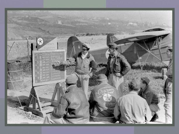 FAB na Itália 7 de julho de 1944. Agência Nacional