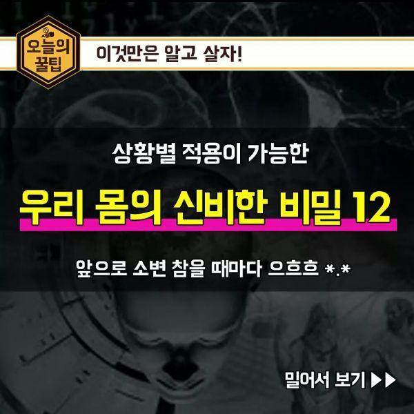 Vingle - 우리 몸의 신비한 비밀 12! - 화끈하고 뜨거운 정보통