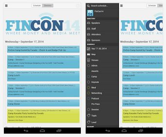 Download the Official #FinCon14 App (iPhone and Android)