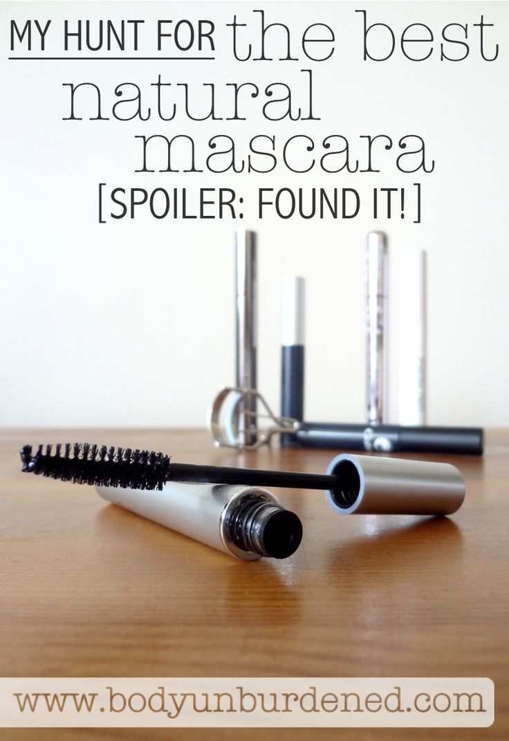 I went on a hunt for the BEST natural mascara... and I found it! Actually, I found a few that work great and don't have any toxic chemicals. [natural beauty, green beauty, green living, nontoxic]