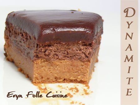 Le Dynamite ( Gâteau Caramel & Chocolat )