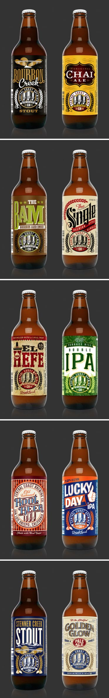 Stellar Beer Label Designs by Scott Greci #beer #foster #australia  Beer Club OZ presents – the Beer Cellar – ultimate source for imported beer in Australia  http://www.kangabulletin.com/online-shoppi (Beer Bottle Design)