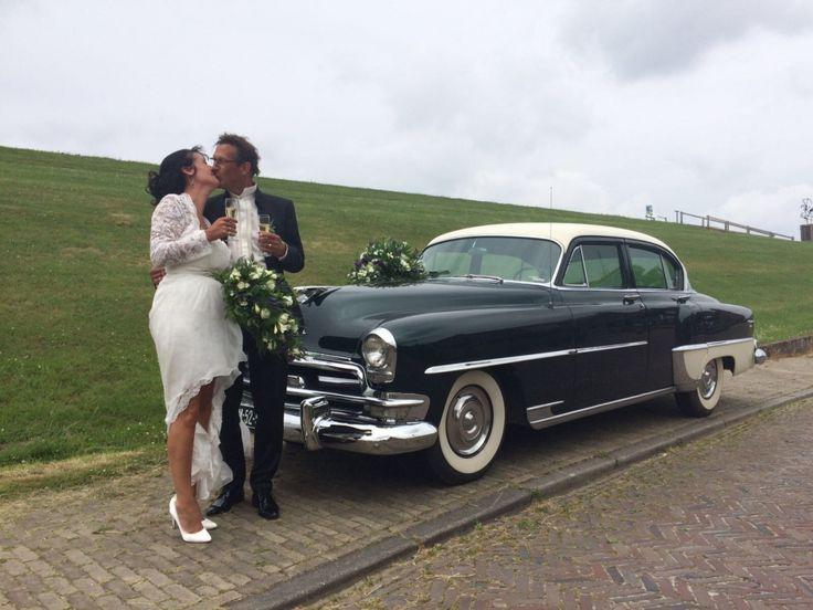 #Trouwauto #Chrysler windsor deluxe | Limousine huren Friesland