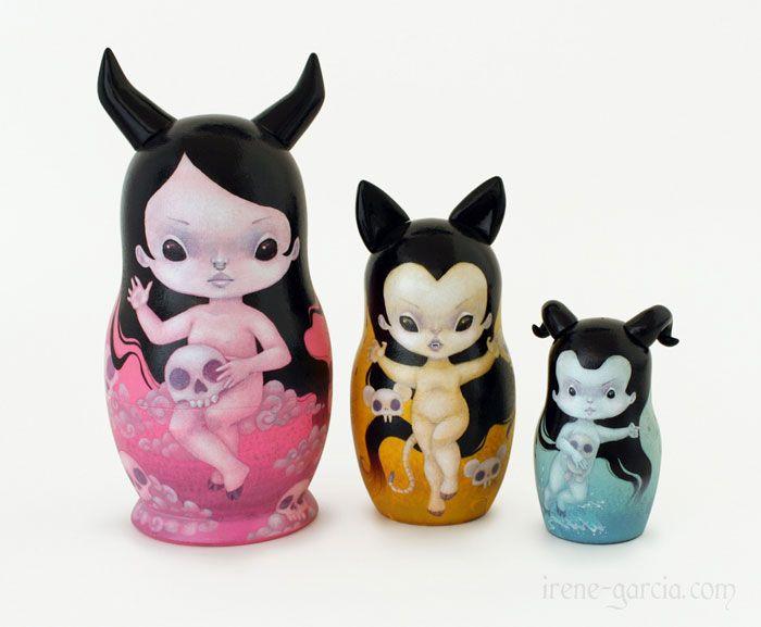 Matryoshka/Babushka Dolls | Nesting dolls by Irene Garcia Photo