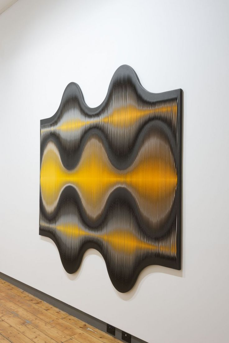 Liquid Light: 66 degrees (side view) 2012 by MARION BORGELT
