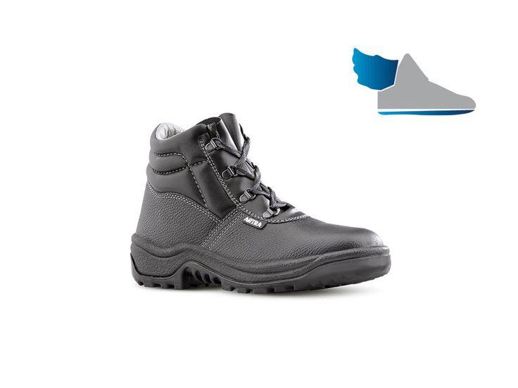 Pracovná bezpečnostná členková obuv s oceľovou tužinkou a oceľovou stielkou odolnou proti prepichnutiu model ARAUKAN 940 6060 S3 CI SRC .       odporučiť produkt    produkt v PDF    katalóg v PDF