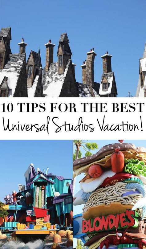 10 Tips For The Best Universal Studios Vacation Ever. Universal Orlando Tips and…