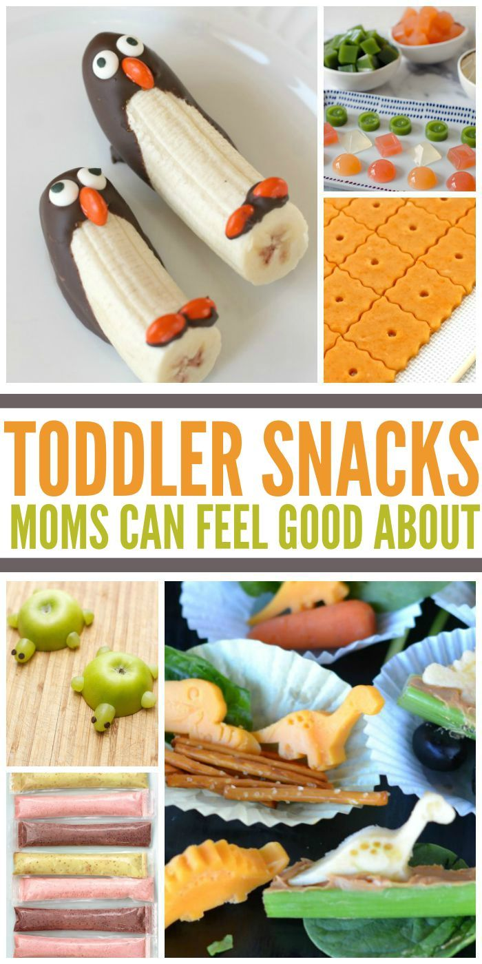 Toddler Snacks Moms Can Feel Good About