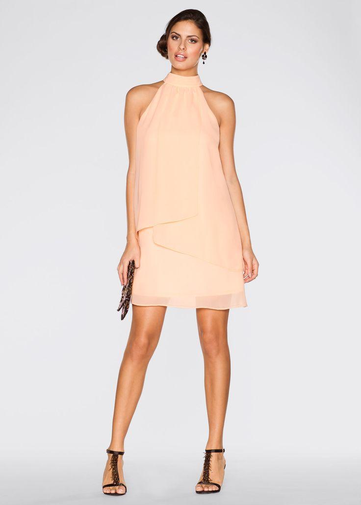 Kleid apricot - BODYFLIRT jetzt im Online Shop von bonprix.de ab ? 27,99 bestellen. Das schulterfreie Cocktailkleid von Bodyflirt überzeugt besonders durch ...