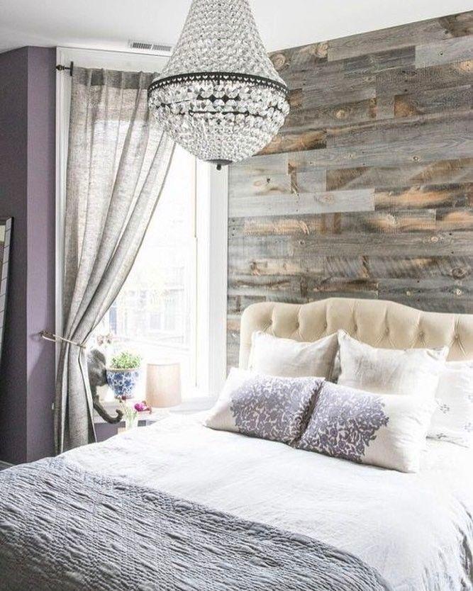 Rustic chic bedroom designs. | @thejonesfix & @jessicagiesey | Reclaimed Weathered Wood