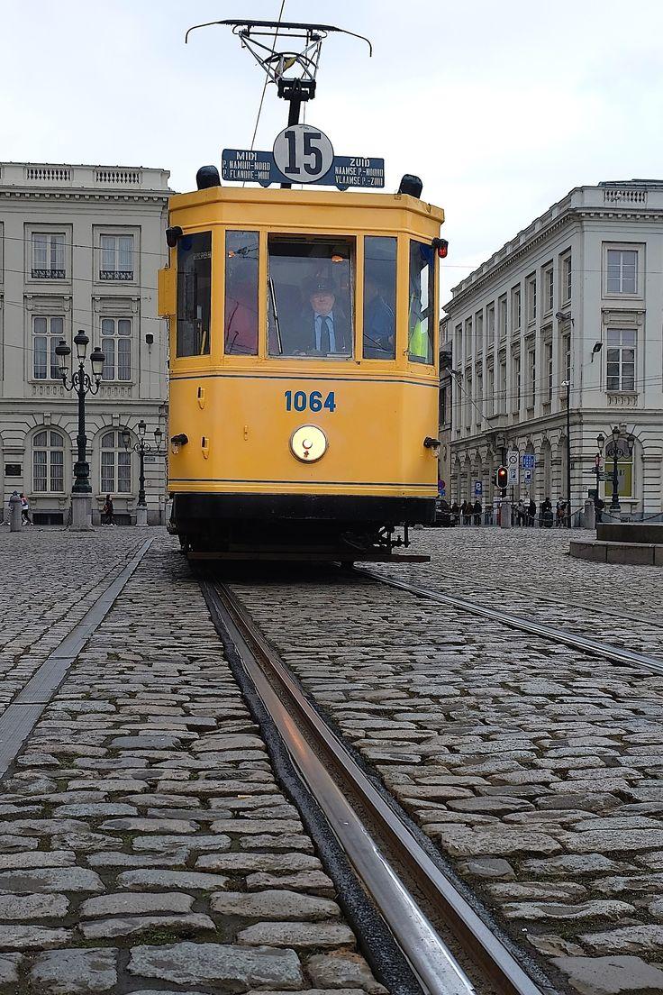 Tram, Brussels