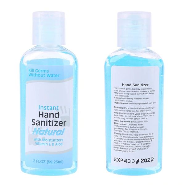 Ingzy Anti Bacterial Hand Gel Hand Sanitizer Gel Alcohol Instant