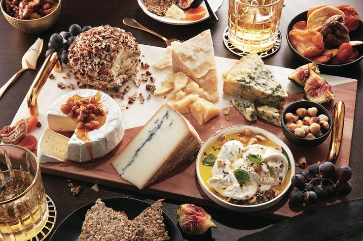 how to serve a cheese board