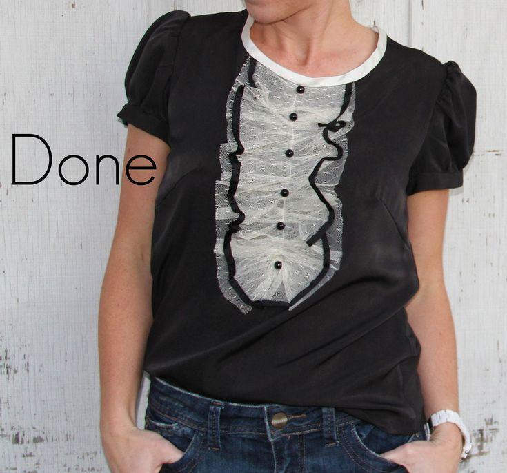 DIY-Tuxedo Shirt