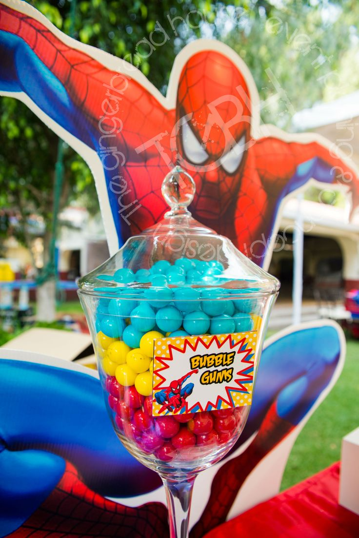 Party Candy Bars Spiderman And Candy Bars On Pinterest