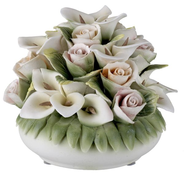 62 Best Capodimonte And Other Collectables Images On Pinterest Ceramic Flowers Ceramic