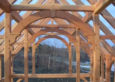 1000 images about timber frame post and beam barns on for Post and beam construction