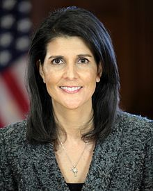Nikki Haley, 1972 SC gov. (R).