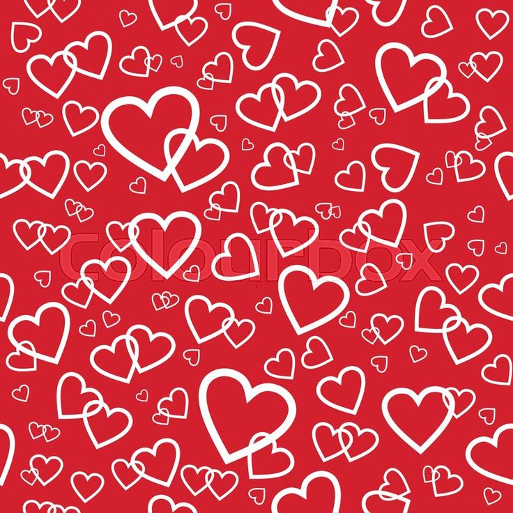 valentines day pattern heart vectorgraphic valentinesday colourbox wrapping papersvector - Valentines Day Wrapping Paper