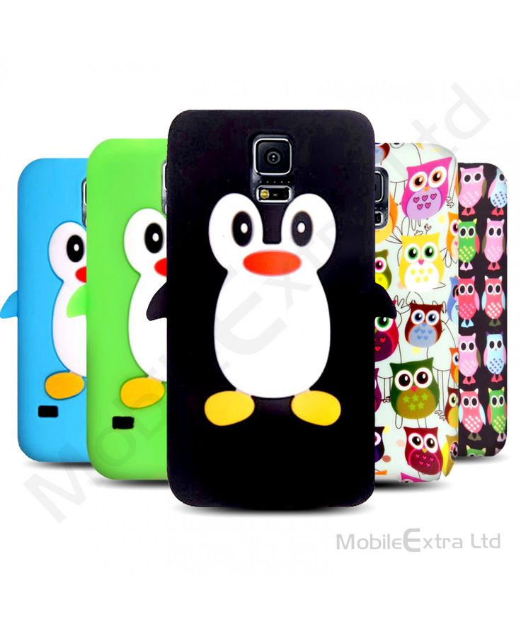 For Samsung Galaxy S5 Neo / S5 New Printed 3D Cartoon Cute Animal Silicone Gel Soft Back Case Cover 66245339872583