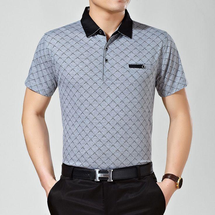 2016 Summer Style Casual men Polo shirt Classic  Loose Brands Short Sleeve polo homme polos hombre manga corta marca