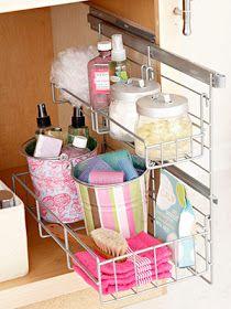 decorology: Cute ideas for small bathroom storage