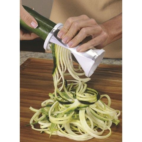 "Veggetti Spiral Vegetable Slicer/Cutter - Make Zucchini or Squash ""Pasta"""