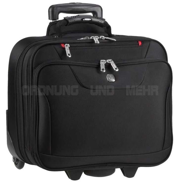 Business Trolley Notebook 15 Zoll Laptop Tasche Reise WENGER Rolling Office NEU