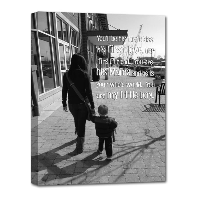 385 best mothers day gift ideas images on pinterest baby gifts mother and son gift on canvas negle Images