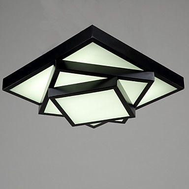Ecolight™ Square Flush Mount/LED Modern/Contemporary Living Room Ceiling light / Bedroom/Kids Room / Metal 4395745 2017 – $148.86