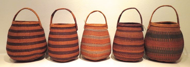 "Khwe Basket, Namibia Used to collect berries and herbs by ""Hunter-Gatherers"" at Kim Sacks Gallery Johannesburg"