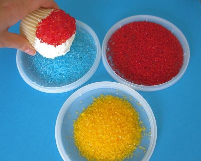 How to make Snow Cone Cupcakes