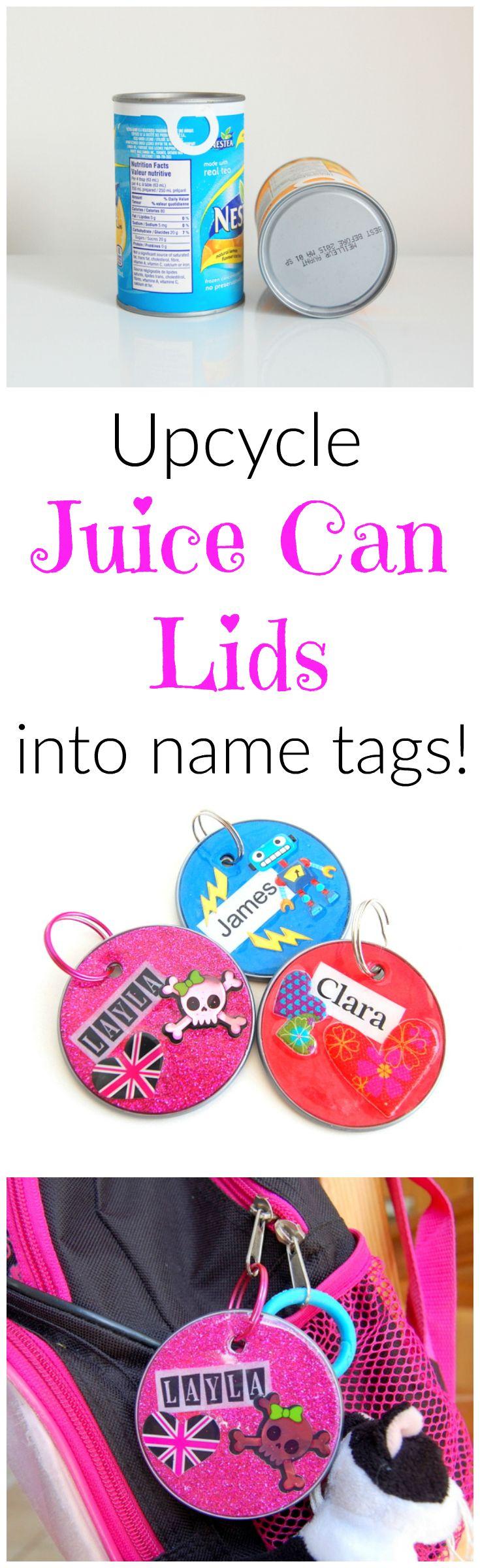 Diy Name Tags Make Your Own