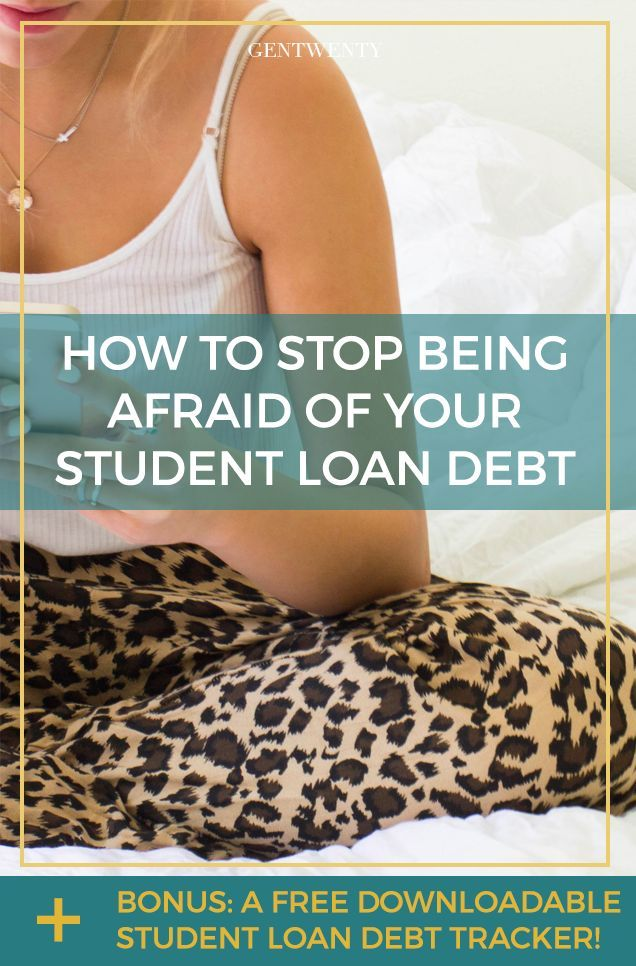 You're afraid of your student debt. So afraid, in fact, that you don't even know exactly how much you owe or to whom. How did it end up like this? [Click through for your FREE Student Loan Debt Tracker!]