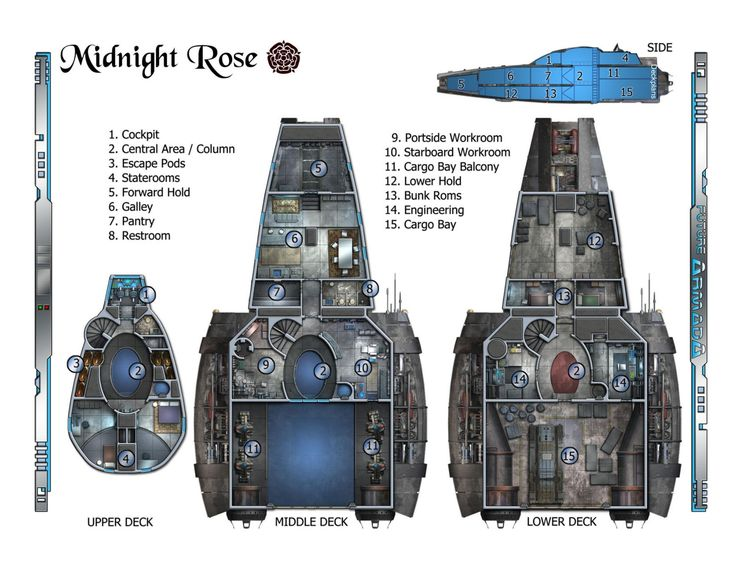 serenity rpg ship layout floor plans main deck plans starship deck plans galleryhip com the hippest galleries