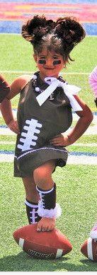 Football Pillowcase Dress