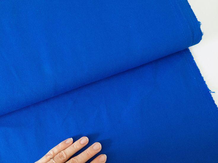 Canvas Kobaltblau Meterware zum Selbernähen von DIY Sewing Academy auf DaWanda.com