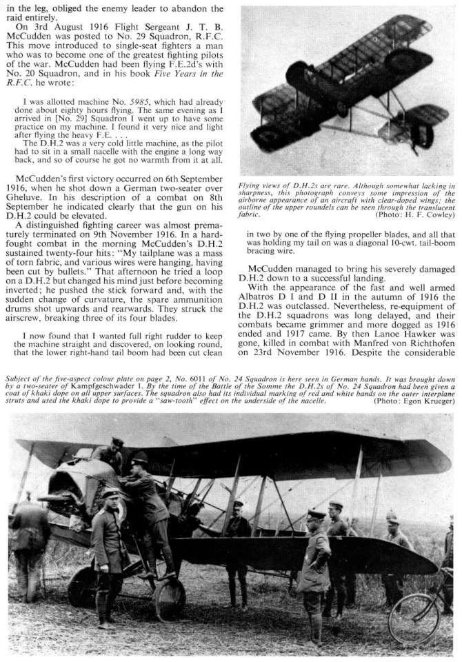 De Havilland DH2 (91) Page 09-960