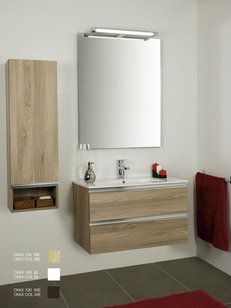 Mueble de ba o incluye lavabo oferta muebles de ba o for Oferta espejo pared