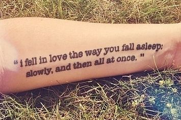 50 Literary Tattoos http://www.buzzfeed.com/alannaokun/tattoos-inspired-by-books